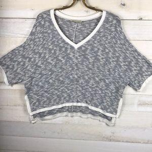 Anthro Saturday/Sunday Cropped Sweater Size Large